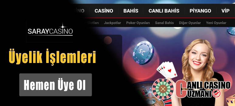saray casino uyelik