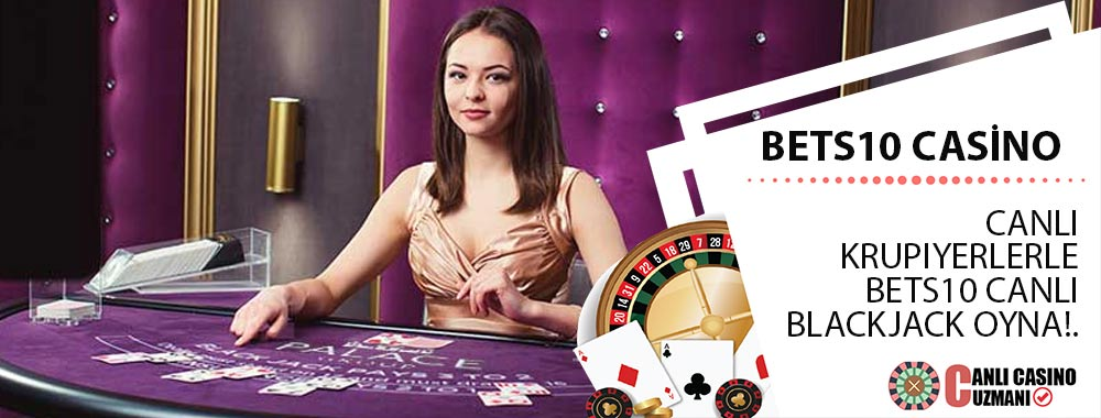 Bets10 Casino Canlı Blackjack
